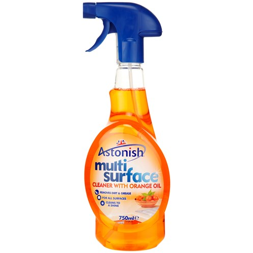 Astonish  Multi Surface Cleaner with Orange - 750ml