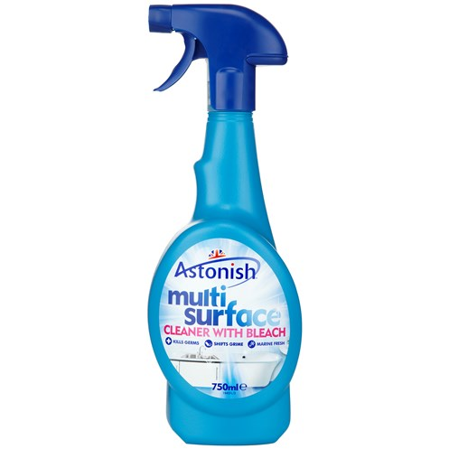 Astonish  Multi Surface Cleaner with Bleach - 750ml