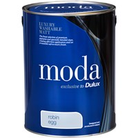 Dulux Moda Matt Colours Paint - 5 Litre
