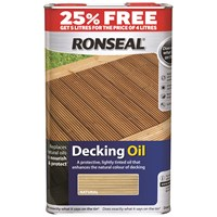 Ronseal  Decking Oil - 4 Litre + 25% Extra Free