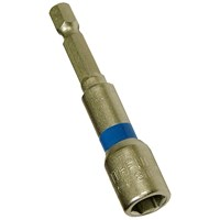 Faithfull  Magnetic Nut Driver - 1/4in Hex 8mm