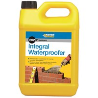 Everbuild  202 Integral Waterproofer - 5 Litre
