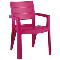 Allibert  Ibiza Resin Chair - Pink
