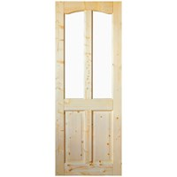 InDoors  Clifton 4 Panel Interior Unglazed Pine Door - Unfinished