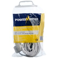 Powermaster  10m Extension Lead - 13 Amp 1 Gang