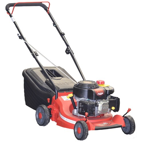 NGP  123cc Push Petrol Lawnmower with Poly Deck - 43cm