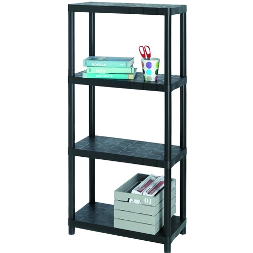 Sigma  4-Tier Shelving Unit - 12in
