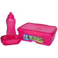 Sistema Klip It Lunch Box Set with Bottle